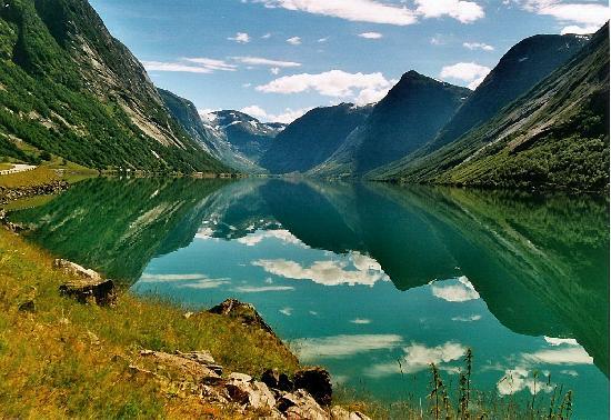 Sogn og Fjordane, Norveç: Jolster, Sunnfjord