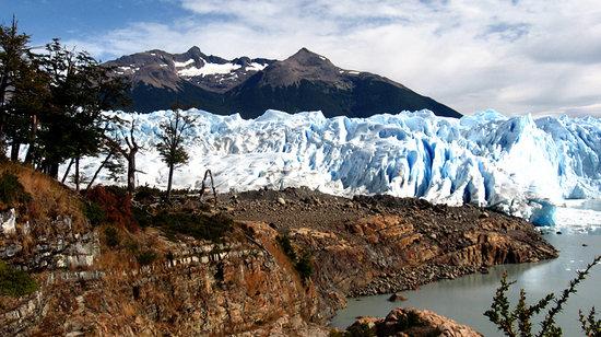 El Calafate, Argentina: Perito Moreno antes del minitrekking por el Glaciar