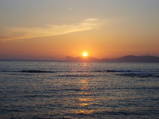Casa Rosada Alghero: sunset
