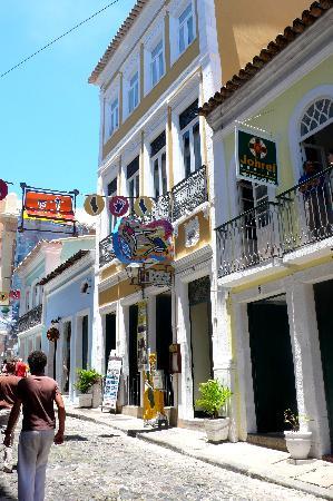 Hotel Casa do Amarelindo: entrée de l'hôtel