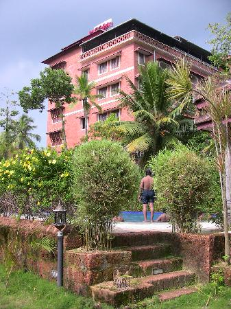 Pagoda Resorts Alleppey: Main accommodation block