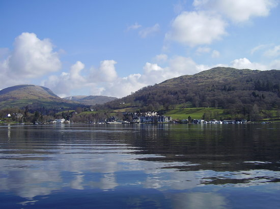 Waterhead Hotel: View from Lake Windermere