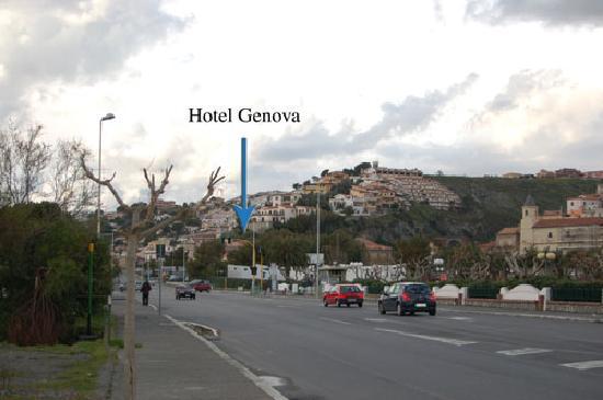 Hotel GeNova : scalea centro