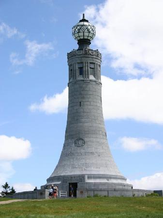 Mount Greylock: The monument itself