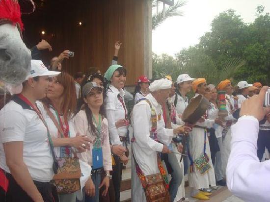 Sidi Harazem, Morocco: Un accueil très chalereux