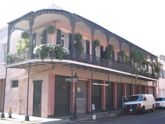 Nouvelle-Orléans, Louisiane :                   The French Quarter