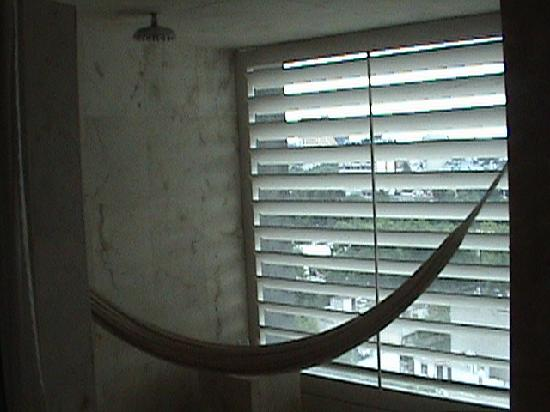 W Mexico City: shower/ hammock