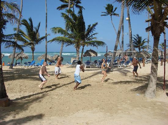 Dreams Punta Cana Resort Spa Beach Volleyball