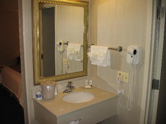 Fairfield Inn Manchester-Boston Regional Airport: Bathroom (Very Clean)