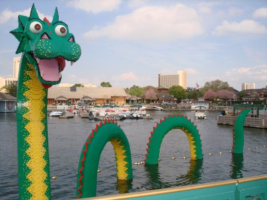 Walt Disney World, Флорида: Lego Lockness