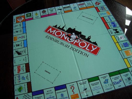 The Scotsman Hotel: Scottish Monopoly