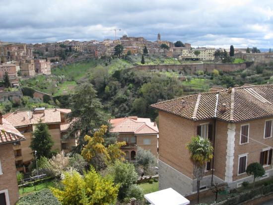 Hotel Villa Elda : View from the rooftop terrace - the Duomo