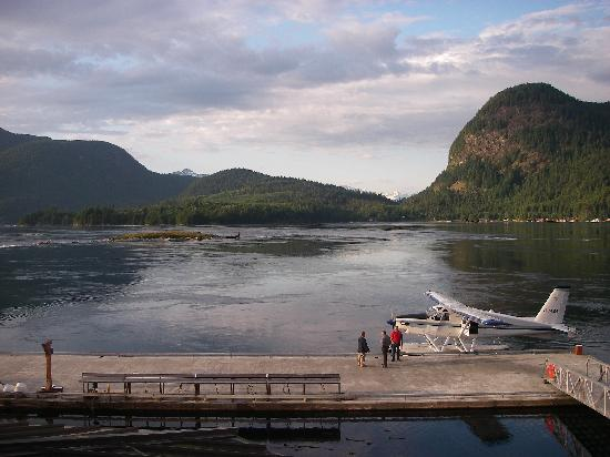 Sonora Resort : Seaplane in front of resort