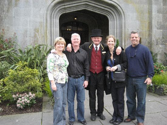 Adare Manor: Jolly head doorman