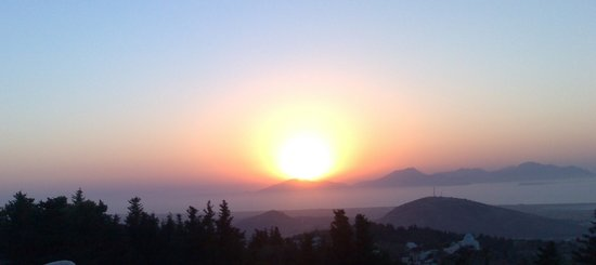 Kos, Grecia: Sunset from Zia