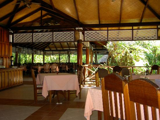 VOI Maayafushi Resort: Dining area