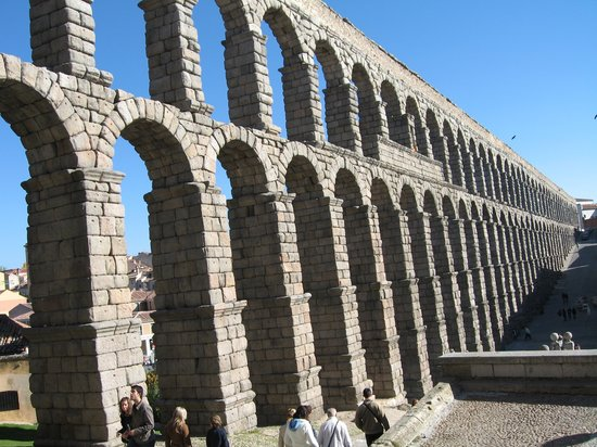 Segovia, Spain: Aqueduct view 4