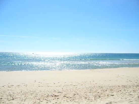 Vila Galé Albacora: The beach in March