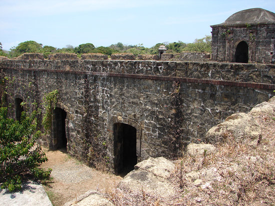 Inside the Fort San Lorenzo