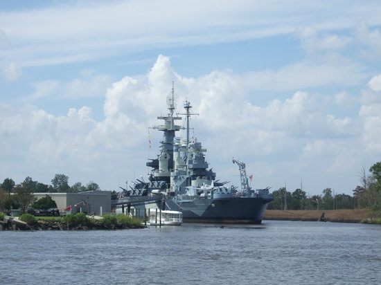 Wilmington, Carolina del Norte: The North Carolina Battleship