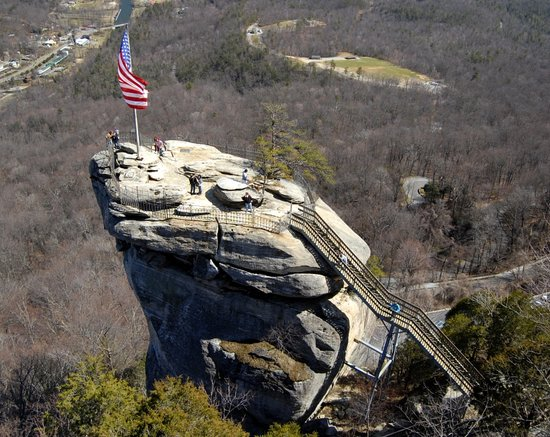 ‪‪Chimney Rock‬, ‪North Carolina‬: Chimney Rock overview‬