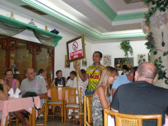 Le Khalife: Chouchou in hotels restaurant