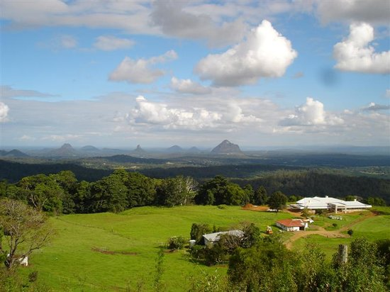 Maleny, Australië: Glasshouse Mountains
