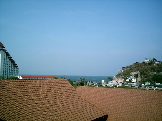 Napalai Resort & Spa: Blick zum Meer vom 4 Stock