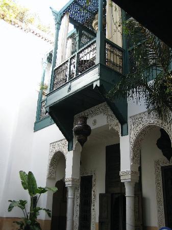 Riad Farnatchi,my balcony