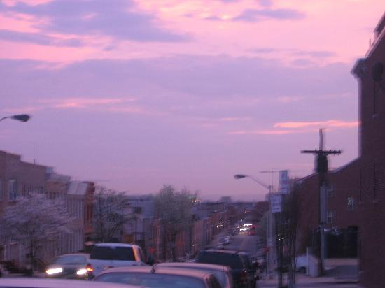 INN at 2920: View of Canton sunset
