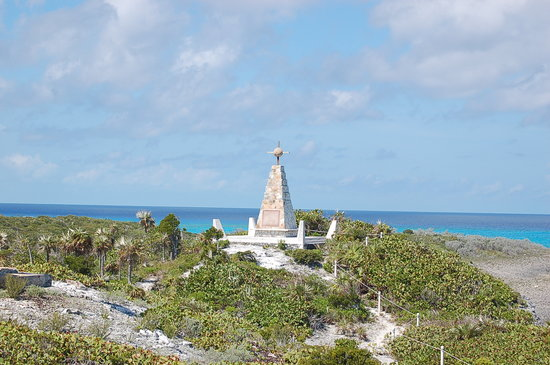 Cape Santa Maria Beach Resort & Villas: Christopher Columbus monument