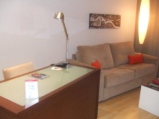 Hotel Rekord: Living Area (1)