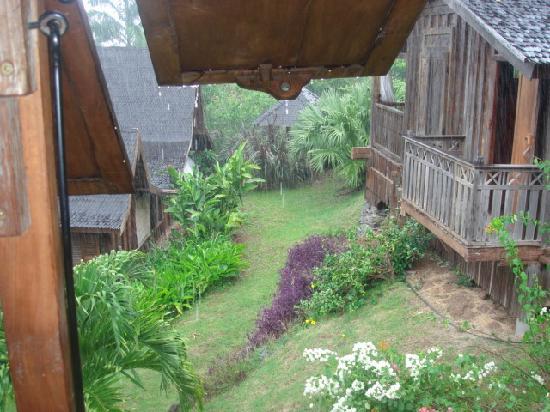Tainos Cottages: vue de la chambre
