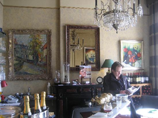 Hotel Vredehof : bar