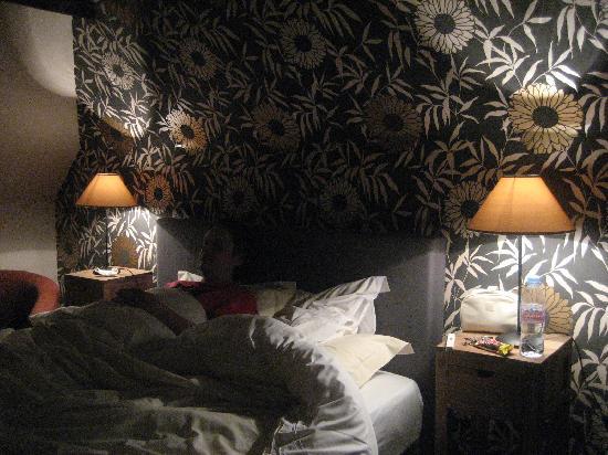 Hotel Vredehof : chambre