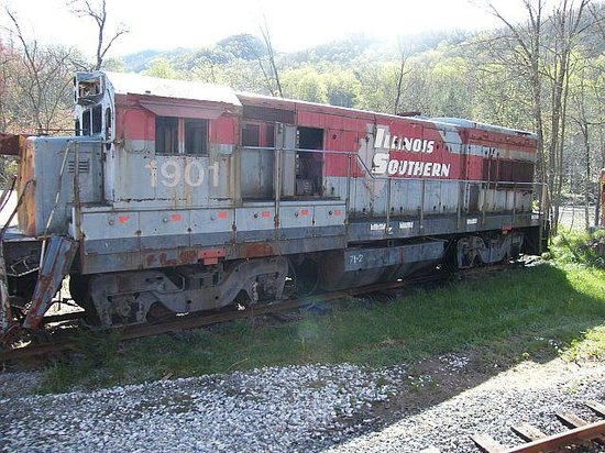 Great Smoky Mountains Railroad: The Fugitive movie set