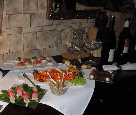 Casa Toscana Gästehaus Bed & Breakfast: Wine Tasting Menu