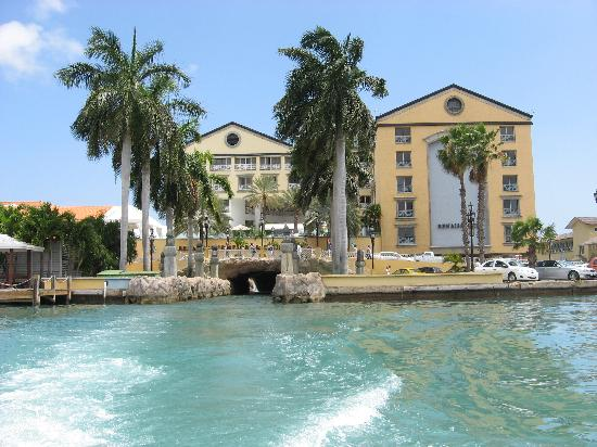 Renaissance Aruba Resort Hotel From The Boat
