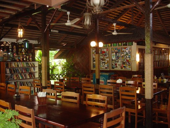 Pulau Mabul, Μαλαισία: Restaurant at main area