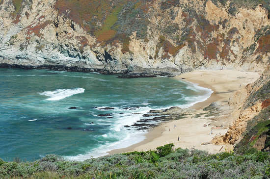 Half Moon Bay, Californië: Photo 4: Grey Whale Cove State Beach