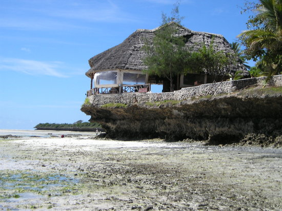 Coral Rock Zanzibar: the restaurant