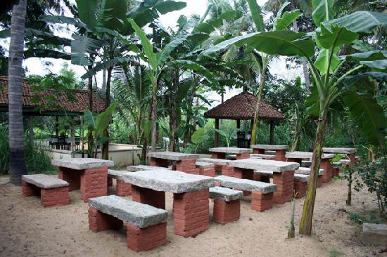 Wonderful INDeco Swamimalai: Outdoor Seating For The Restaurant