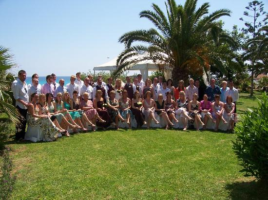 Nissi Beach Resort : Wedding Guests