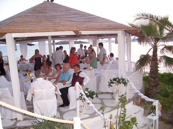Nissi Beach Resort : Rondavel Beach Bar
