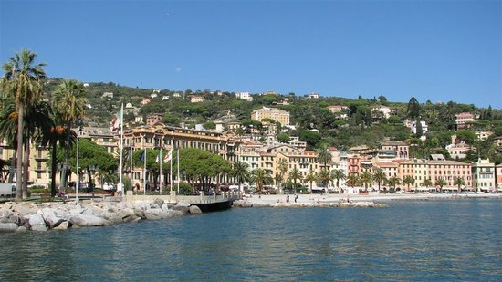 Santa Margherita Ligure, Italië: View from the pier