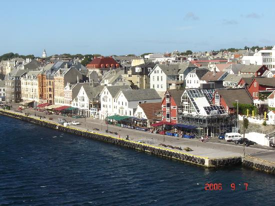 Haugesund, Noruega: View from the bridge