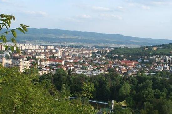 Ramnicu Valcea, Rumania: from Capela Hill