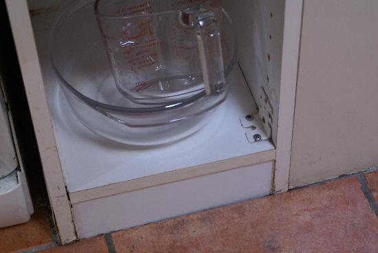 Center Parcs Elveden Forest: shabby kitchen finish
