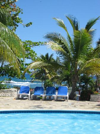The Tropical at Lifestyle Holidays Vacation Resort: view from the pool outside building 5