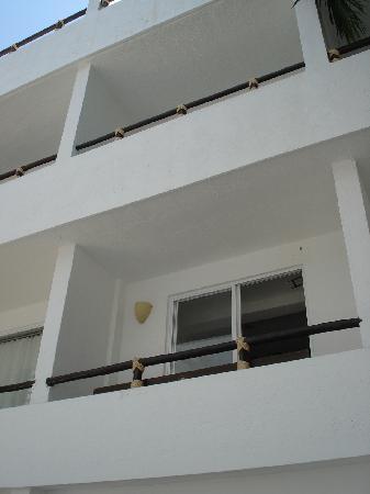 El Hotelito: Vista desde la alberca